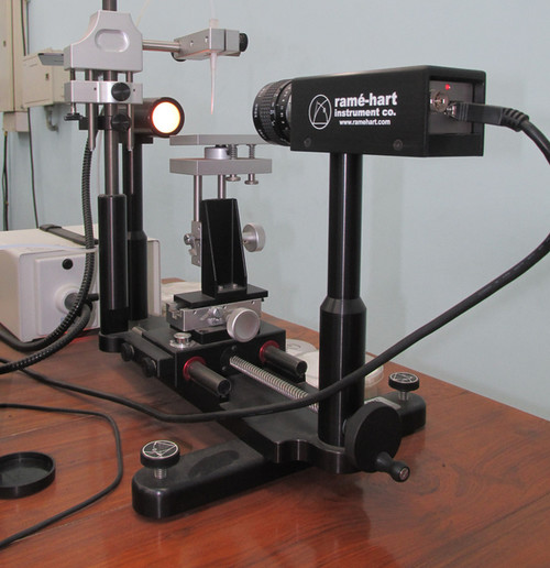 Contact Angle Measurement Facility