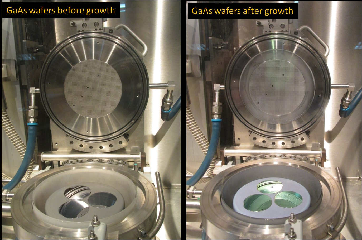 GaAs wafers growth